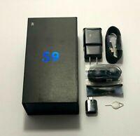 SAMSUNG GALAXY S9 SM-G960U BLACK 64GB VERIZON UNLOCKED GSM & CDMA 2 DAY FEDEX