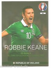 Panini Adrenalyn XL UEFA EURO 2016 - Legend Player Robbie Keane (16)