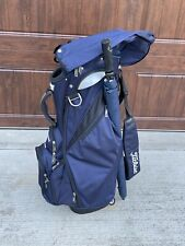 Titleist 14-Way Stand Golf Bag Blue with Rain Hood