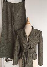 Valentino Woman Wool Blazer Pants Suit Top Size 6