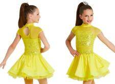 Dance Costume Small//Intermediate Child Gold Sequin Weissman Jazz Tap DUET
