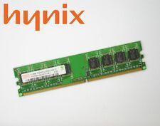 512mb Hynix ddr2 DDR II DIMM Memoria RAM pc2-5300u HYMP 564u64cp8-y5 AB-C