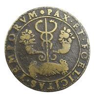 Jeton de Compte Louis XIII Paix et Temps Heureux non daté frappé en 1632