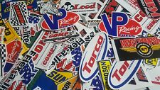 Lot of 100 Mini Tool box Nascar Style Race Car Decals Stickers Drag  Racing NHRA