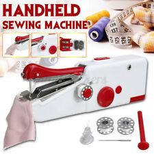 Single Stitch Sew Quick Small Portable Hand Held Sewing Machine Compact Travel