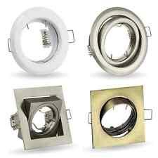 LED Einbaustrahler Schwenkbar Einbauleuchte GU10 GU5,3 Rund Quadrat Spot Rahmen