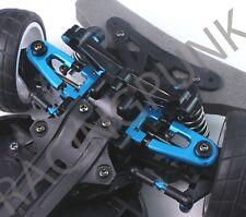 RC Car Upgrade Hop Up Alloy ADJUSTABLE FRONT UPPER Arm for TT02 Tamiya BUGGY BLU
