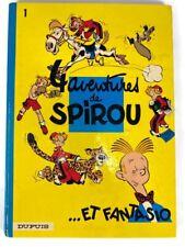 1972 4 Aventures de Spirou et Fantasio 1 Franquin Dupuis Hardcover French Comics