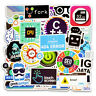 Developer Programmer 50ps Stickers of Programming Languages and Internet Brands