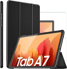For Samsung Galaxy Tab A7 10.4 (2020) Smart Case Cover & Glass Screen Protector