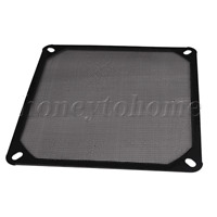 Black 140mm Fine PC Computer Fan Filter Dustproof Mesh Tool Metal