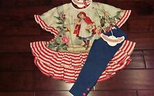 NWT Paper Wings two piece set 4T (fits 5T as well)