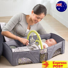 CLEARENCE!!! Summer Fold and Go Baby Infant Portable Travel Bassinet Cot Bed