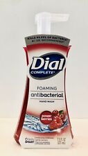DIAL COMPLETE POWER BERRIES FOAMING HAND SOAP WASH 7.5 oz