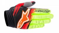 Alpinestars Techstar Venom Gloves Red/Yellow/Black Motocross Mx Quad AOff Road