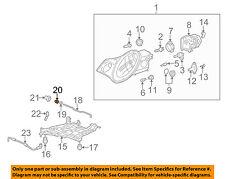 PORSCHE OEM 01-05 911 Headlight Head Light Lamp-Rod Bushing 99663127200