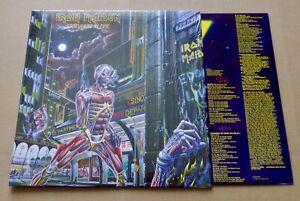 IRON MAIDEN Somewhere in time EU LP 180 g PARLOPHONE 2564624854 (Remastered-2014