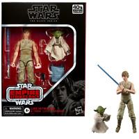 Luke Skywalker and Yoda – Star Wars The Black Series 6-Inch Action Figure (Je...