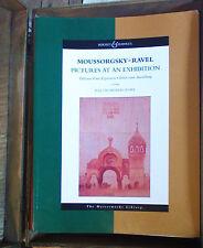 MOUSSORGSKY - RAVEL Tableaux d'une exposition PARTITION