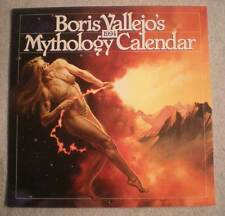 BORIS VALLEJO 1994 Calendar,Good Girl,Femme Fatale, VF