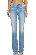 7 For All Mankind High Waisted Vintage Flare Light Sky Jeans $225  NWT 25
