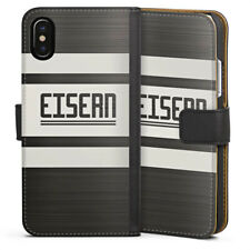 Apple iPhone x bolso funda flip case-surgían 1 Unión berlín