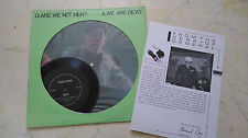 DEVO Are We Not Men? LP incl. RARE FLEXI + SHEET!!!