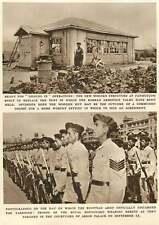 1952 Egyptian Army Discard Tarboosh Armistice Hut Panmunjon Korea