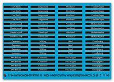 1/16 Decals Deutsche Ärmelbänder No 1 846