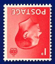 1936 Sg458Wi 1d Scarlet (Wmk Inv) Spec P2a Mnh ailh