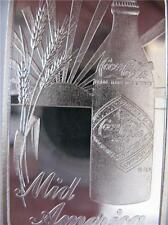 1 OZ..SILVER .999 KANSAS CITY MO. MID AMERICA  COCA COLA 75TH ANNIV BAR + GOLD