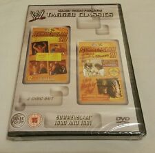 NEW & SEALED WWE Tagged Classics Summerslam 1990 & 1991 (DVD) 90 91 RARE WWF