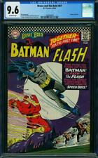 BRAVE AND THE BOLD #67 CGC 9.6 Batman & The Flash!