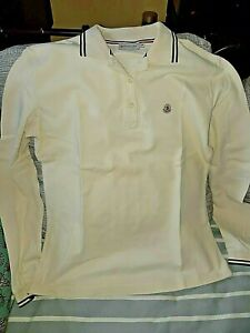 Moncler Polo Tee Shirt Maillot Slim Manches Longues  Style M Top