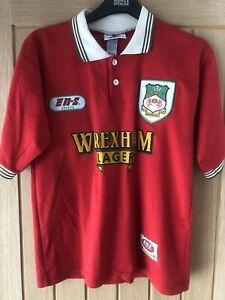 Vintage Wrexham AFC 1997/98 Home Shirt Football Lager EN-S Soccer Retro