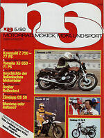 mo 1980 5/80 Enfield India 350 Morini 3 ½ VT Van Veen Yamaha YZ 465 Zündapp CS50