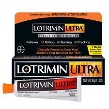Lotrimin Ultra 1 Week Athlete's Foot Treatment Cream, 1.1 Oz Tube