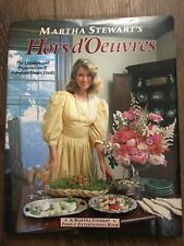 MARTHA STEWART'S HORS d'OEUVRES 1984 Cookbook Recipes Cook Book