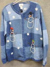 Ugly Christmas Sweater Women's 2X Breckenridge