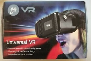 GOJI UNIVERSAL VR 3D VIRTUAL REALITY HEADSET