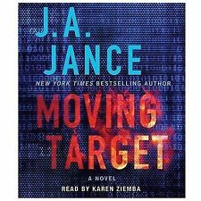 new MOVING TARGET -J. A. Jance- UNABRIDGED AUDIO 10 CD-  free shipping