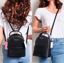 NWT Kate Spade Cameron Mini Convertible Backpack in Black