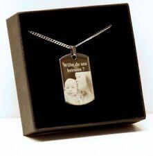 Markenlose Modeschmuck-Halsketten & -Anhänger aus Edelstahl mit Liebe- & Herzen