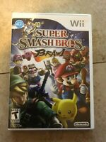 Super Smash Bros. Brawl w/ Manual - Nintendo  Wii Game, Clean And Tested