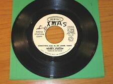 """PROMO CHRISTMAS 45 RPM - BOBBY VINTON - EPIC 10689 - """"CHRISTMAS EVE IN MY TOWN"""""""