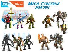 Mega Construx Heroes Pro builders MOTU Aliens Predator TMNT Terminator