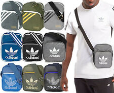 Adidas Originals School Bags - Mens Boys Girls Adidas Mini Bags  Shoulder Bags