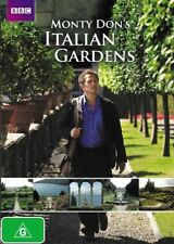 W3 BRAND NEW SEALED Monty Don's Italian Gardens (DVD, 2012, 2-Disc Set)