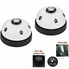 2 Pack Haustier Klingel Hunde Training Mit Metall Klingel Interaktives Spielzeug