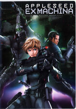 APPLESEED EX MACHINA   - 2007 ANIMATED FILM DVD - US IMPORT (Ekusu Makina)